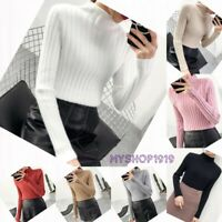Girls Top Sweater Knitted Warm Autumn Winter Long Sleeve School Age 12-16 years