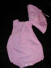 NWT Ralph Lauren Medium Pink w/ Sun Bonnet/Hat 6 month ~MUST SEE!~GIFT