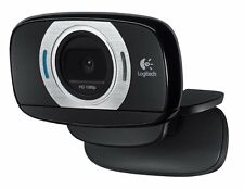 Logitech HD Laptop Webcam C615 with Fold-and-Go Design, 360-Degree Swivel, 1080p