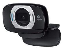 Logitech HD Laptop Webcam C615 with Fold-and-Go Design, 360-Degree Swivel, 1080p
