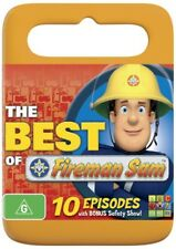 "Fireman Sam "" The Best Of "" ( 10 Episodes ) DVD - Region 4 Australia"
