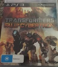 ps3 transformers Fall Of Cybertron Game New Sealed