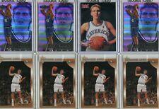 DIRK NOWITZKI 8 card ROOKIE lot NBA Dallas Mavericks
