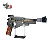 Star Wars Custom Mandarlorian Blaster Pistol made using LEGO parts