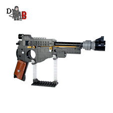 Star Wars Custom Mandalorian Blaster Pistol made using LEGO parts