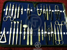 New Listing30 Pc Or Grade Basic Ophthalmic Eye Micro Surgery Surgical Instruments Set Kit