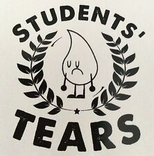 """Gift for Teacher! 5 """"Students' Tears"""" stickers"""