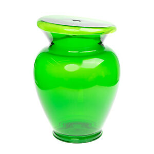 RRP €120 KARTELL BOHEM Stool Transparent Green Contemporary Design Made in Italy