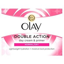 OLAY DOUBLE ACTION DAY CREAM & PRIMER NORMAL/DRY DAY CREAM - 50ML