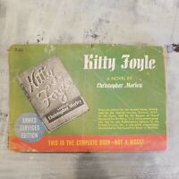 Kitty Foyle By Christopher Morley Armed Services Edition Book WWII Full Novel