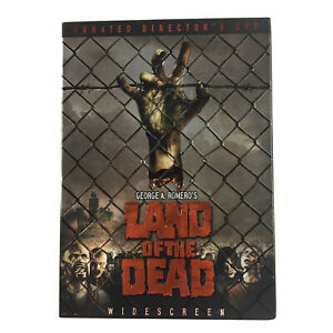 Land of the Dead Unrated Directors Cut DVD REGION 1 USA NTSC In Cardboard Sleeve