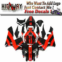 Fairings For Honda CBR600 CBR600RR F5 05 06 Kit Injection ABS Bodywork Black Red