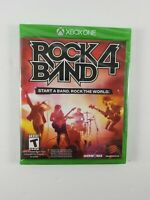 Brand New Sealed Rock Band 4 (Xbox One) Game Only Madcatz Harmonix