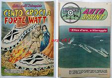 ALBI DELL'INTREPIDO 1021 Auto Sprint ELICA D'ORO VIAREGGIO Universo 1965