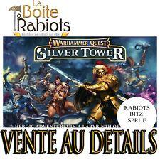 Warhammer Quest Silver Tower Vente au détail Rabiots Bitz Sprue