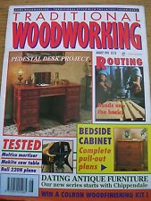 English Traditional Woodworking monthly magazine for August 1995