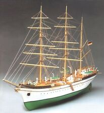 """Genuine, elegant wooden model ship kit by Constructo: the """"Gorch Fock"""""""