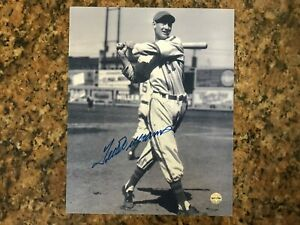 Ted Williams Autographed 8x10 Photo with Certificate of Authenticity