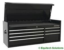 Sealey PTB141007 Black 7 Drawer Tool Box Top Chest Ball Bearing Runners Slides