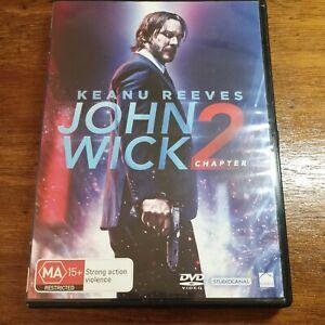 John Wick Chapter 2  DVD R4 Like New! FREE POST