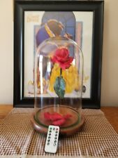 "Enchanted Rose replica ""Beauty and the Beast"" .With remote & music box"