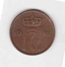 Norway 5 Ore Coin - 1952 -  L@@K !!