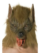 Wolfmaske Masque Loup-Garou Animal Loup Masque Masque D'Animal Latex