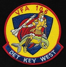 VFA-106 US Navy Strike Fighter Squadron ONE ZERO SIX Military Patch DET KEY WEST
