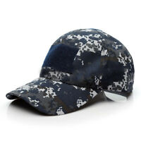 Military Camo Baseball Hat Cap Camouflage For Men Women Adjustable Outdoor Sport