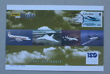 100 years of powered flight gibraltar boeing yankee clipper mercury cover 2003
