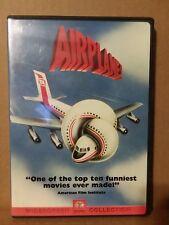 Airplane DVD 1980 Robert Stack Leslie Nielsen (A-5)