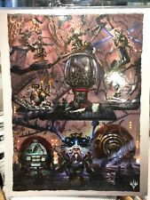 Magic the Gathering Unstable 25th Anniversary Promo Poster - Jason Felix