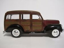 """SUPERIOR DIE-CAST 1940 FORD WOODY WAGON, (5-1/4"""" Long, 1:32 Scale)  NEW IN BOX"""