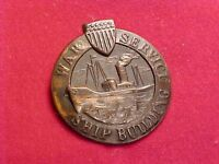 ORIGINAL WWI US WAR SERVICE SHIP BUILDING PIN / BADGE #2