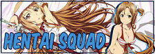 Hentai Squad Slap Bumper Window Vinyl Decal Sticker Drift Stanced JDM 350Z G35