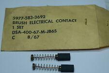 2 coppie spazzole per motori elettrici dimensioni carboncino 19 x 9 x 6 mm
