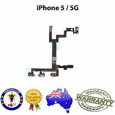 for iPhone 5 - Power Sleep Volume Mute Switch Button Flex Cable - FREE SHIPPING