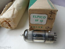 UF42 elpico metal jupe nos Valve Tube 1pc