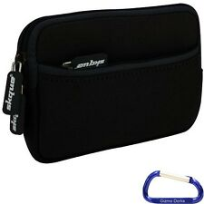 "Zipper Sleeve Cover Case for Chromo Inc 4gb 7"" Android Tablet - Black"