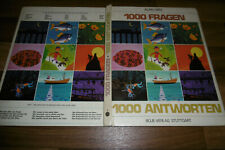 Alain Grée (Heidi+Peter) -- 1000 FRAGEN - 1000 ANTWORTEN // Boje Verlag 1972