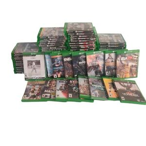 Xbox One Video Games Variety You Choose Cleaned Tested and Works Huge Selection