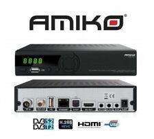 Amiko HD 8265+ DVB-S2/T2  Combo Decoder Digitale  - Nero