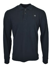 CP Company Classic Long Sleeved Polo Shirt Black BNWT RRP £115