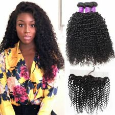 Kinky Curly Kerry Curl Brazilian Virgin Human Hair Extensions 100g Weave weft