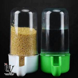 2pcs Small Bird Water Drinker Feeder Waterer with Clip Pet Bird Supplies For Pet
