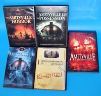 5 AMITYVILLE HORROR COLLECTION DVD INCLUDING A NEW GENERATION - MINTY!