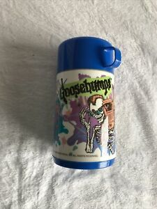 "Vintage 1995 Goosebumps RL Stine ""Enter If You Dare"" Thermos NEW NEVER USED"