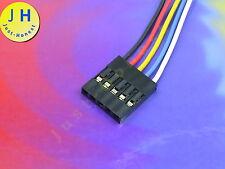 BUCHSE / HEADER 5 polig / ways verdrahtet  Female Connector wired Dupont #A1299