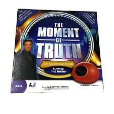 2008 The Moment of Truth Adult Party Board Game Toy Biometric Lie Detector