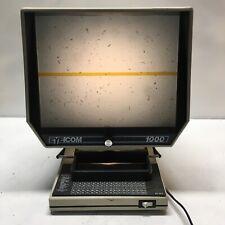 Rare Vintage Eyecom 1000 Microfiche Microslide Reader Viewer Tested Used